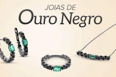 Ouro negro: conheça joias de ouro com acabamento em ródio negro