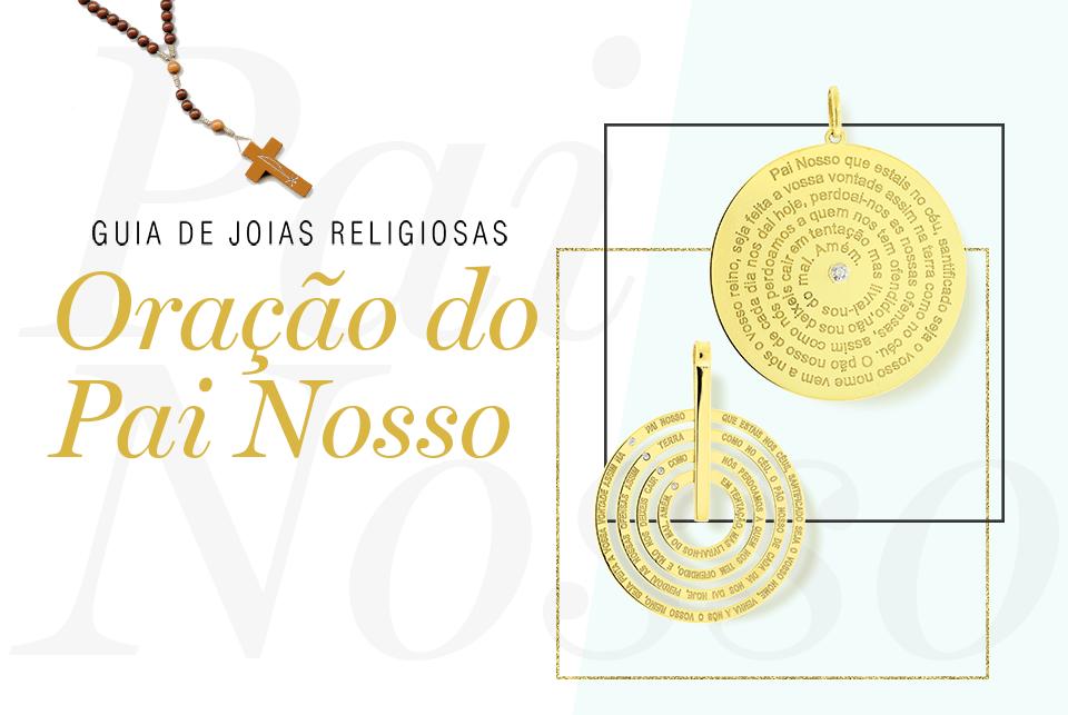 Guia de joias religiosas: Oração do Pai Nosso